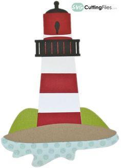 Lighthouse - free SVG Cutting file!