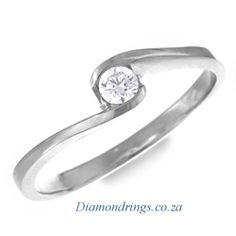 elegant, simple engagement ring. This is EXACTLY what I want. Something small and simple.