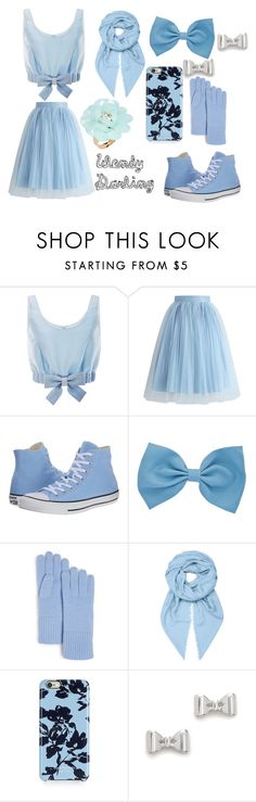 """""""wendy darling"""" by queenofmusic598 on Polyvore featuring Honor, Chicwish, Converse, C by Bloomingdale's, Loewe, Isaac Mizrahi, Marc by Marc Jacobs and Dettagli"""