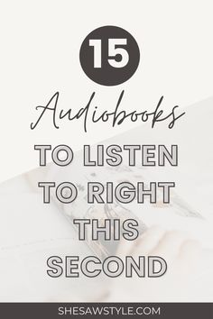 15 Audiobooks to Listen to Right This Second | She Saw Style  audiobooks for roadtrips | audiobooks for women | audiobooks for teens | best audiobooks for women reading lists | great audiobooks | contemporary romance audiobooks | things to do while listening to audiobooks | best audiobooks 2020 | audible | audible books reading lists | audiobook recommendations | #audiobooks #bestaudiobooks2020 #audible