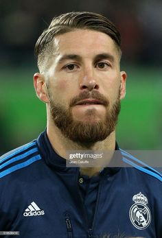 News Photo : Sergio Ramos of Real Madrid looks on before the. Hipster Haircuts For Men, Hipster Hairstyles, Great Beards, Awesome Beards, Sergio Ramos Hairstyle, Ramos Haircut, Hair And Beard Styles, Hair Styles, Barber Haircuts