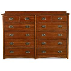 Found it at www.dcgstores.com - ♥ ♥ Prairie Mission 12 Drawer Oak Dresser ♥ ♥