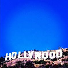 Hollywood Sign in Los Angeles, CA