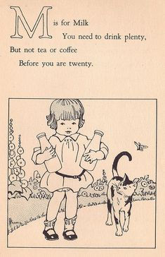 M is for Milk ill by McPhares by katinthecupboard, via Flickr