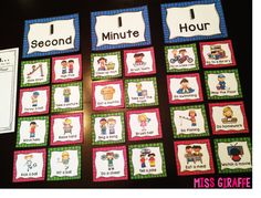 How to teach the concept of time to first graders