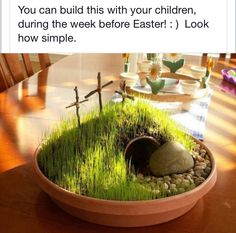 Great Easter activity to do with boys.  Especially to help teach the real reason for Easter.