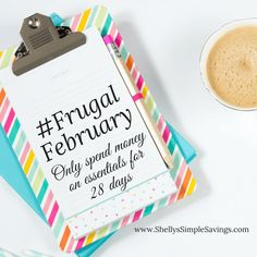 If your goal was saving money for recommit for Frugal February! Frugal February means limiting your spending to essentials for the month. Join now! Preschool At Home, Head Start, Ecommerce Hosting, Frugal, Saving Money, How To Plan, Homeschooling, Goal, February