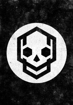 Minimalist Skull