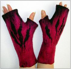FELTING matters... : FELT GLOVES, mitts and more…