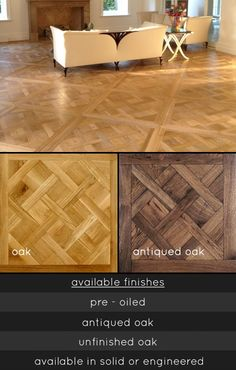 UK suppliers of Versailles parquet flooring in engineered and solid wood. These French geometric wooden floors are ideal design choice for quality interiors.