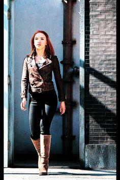 Natasha romanoff in The Avengers