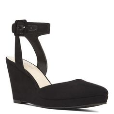 Lady Pointy Toe Wedges