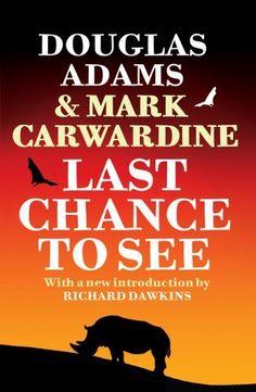 Last Chance to See by Douglas Adams, http://www.amazon.ca/dp/009953679X/ref=cm_sw_r_pi_dp_eTSfsb0WJHVA5