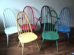 upcycled dining chairs - Google Search