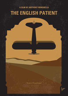 No361 My The English Patient minimal movie poster