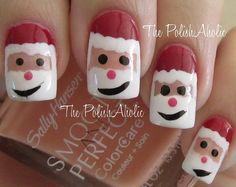 soooo cute for Christmas time... - nailartgallery.nailsmag.com - fashiontravesty.com