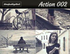 Smfadigital: 2 Free Photoshop Actions Free Photoshop, Photoshop Actions, Social Networks, Promotion, Polaroid Film, Board, Photography, Photograph, Photo Shoot