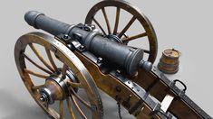ArtStation - Napoleonic French Gun 12 pounds, Sergio Iglesias