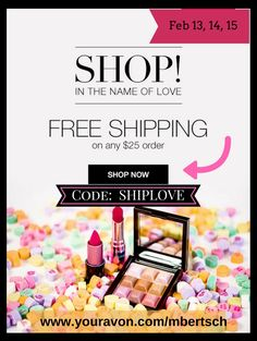 Shop online with {{Session.Name}}, your local Avon Representative! Minnesota, Avon Sales, Avon Online, Avon Representative, Love Is Free, Holiday Sales, Ways To Save Money, Happy Valentines Day, Coupon Codes