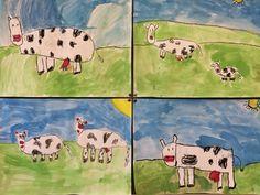 Little Girls, School, Art, Google, Farm Animals, Animales, Kunst, Art Background, Toddler Girls