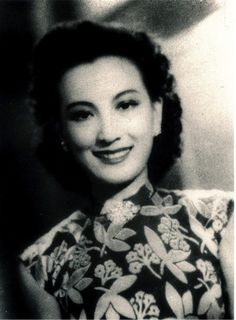 1930's Chinese singer, actress & beauty Zhou Xuan (周璇)