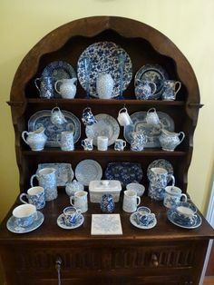 My Burleigh ware collection - English Oak Dresser