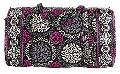 ac0629595b Women s Shoulder Bags - Vera Bradley Large Shoulder Duffel Bag Canterberry  Magenta   For more information
