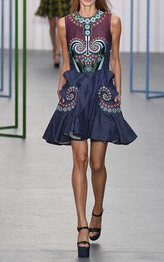 Holly Fulton Look 18 on Moda Operandi