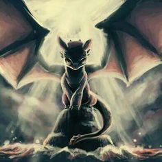 Toothless ^.^ ♡ I give good credit to whoever made this