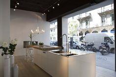 Gunni & Trentino Kitchens and Bathrooms Barcelona Showroom   Polo's Furniture