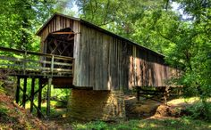 Guide to Georgia's Covered Bridges
