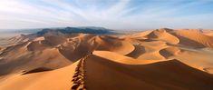 Algérie vue panoramique du désert