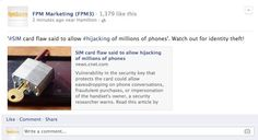 '#SIM card flaw said to allow #hijacking of millions of phones'!