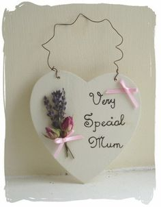 Handmade sign at www.bynicki.co.uk Craft Cupboard, Handmade Signs, All Heart, Wands, Heart Shapes, My Design, Place Card Holders, Valentines, Father