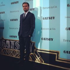 We're certainly glad to see you again, Leo. #LeonardoDiCaprio #GatsbyPremiere #TheGreatGatsby