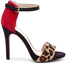 the perfect bridge between bold statement shoe and sandal