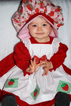 halloween costume strawberry shortcake - Strawberry Halloween Costume Baby