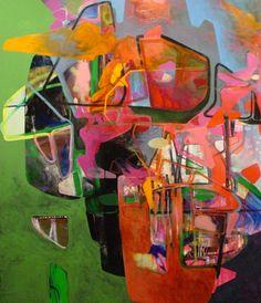 Nick Lamia Artist Colony - 70x60 - Oil on canvas -