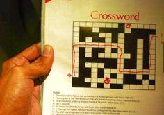 This brilliant crossword solver.