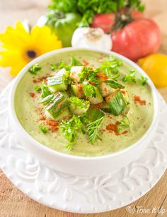 Cool Down with Slimming Summer Soups!