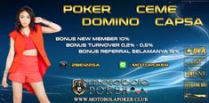 Indonesian online poker with the biggest bonus Online Poker Agent. Click here http://motobolapoker.link/poker-online-indonesia-dengan-bonus-terbesar/