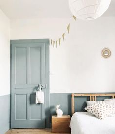 Wall Decorating Ideas for a Blue Bedroom Home, Bedroom Interior, Bedroom Design, Interior, Blue Bedroom, Childrens Bedrooms, Blue Rooms, Room Decor, Room Interior