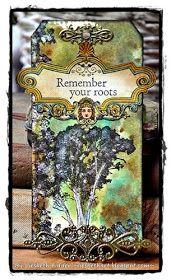 Liesbeth's Arts & Crafts: Darkroom Door Gum Tree tag
