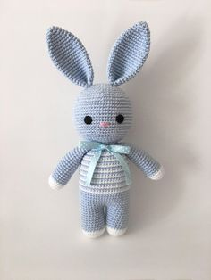 Amigurumi Bunny crochet pattern (English only) - Amigurumi Bunny crochet pattern (English only), # Crochet pattern - Crochet Diy, Crochet Amigurumi, Easter Crochet, Amigurumi Doll, Crochet Dolls, Crochet Bunny Pattern, Crochet Patterns Amigurumi, Crochet Designs, Crochet Projects