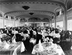 Empress of Australia first class dining room