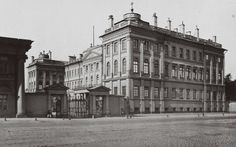 "Anichkov Palace ~ traditionally the residence of the Tsarevich of Russia. During the reign of Tsar Nicholas ll of Russia,it was owned by the Dowager Empress Marie Feodorovna of Russia. ""AL"""
