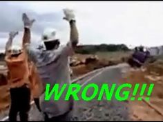 bad use of a locomotive - YouTube