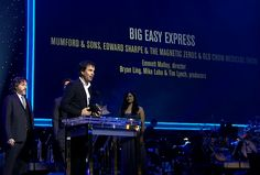 Click here to watch Emmett Malloy's acceptance speech for winning the GRAMMY for Long Form Music Video for Big Easy Express.