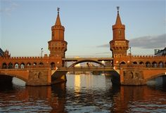 Calatrava, Oberbaum Bridge [River Spree, Germany]