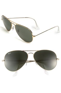 Ray-Ban 'Large Original Aviator' 62mm Sunglasses available at #Nordstrom $145